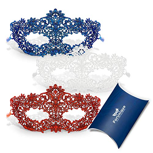 Masquerade Mask for Women Premium Set -