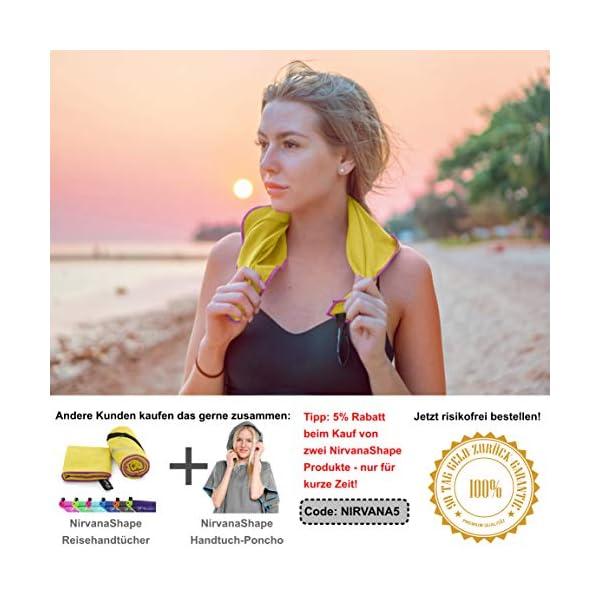 51hQ477YwqL NirvanaShape ® Mikrofaser Handtücher   saugfähig, leicht, schnelltrocknend   Badehandtücher, Reisehandtücher…