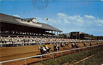 Keeneland, Thoroughbred Racing Lexington, Kentucky, KY, USA Old Vintage Horse Racing Postcard Post Card