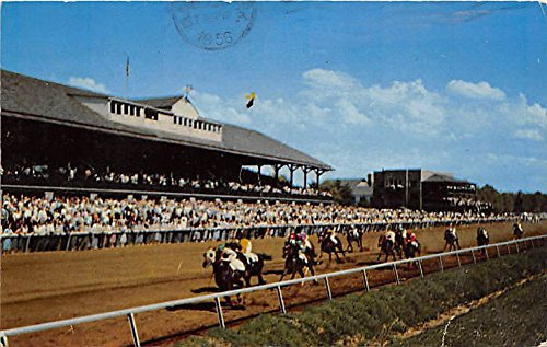 keeneland-thoroughbred-racing-lexington-kentucky-ky-usa-old-vintage-horse-racing-postcard-post-card