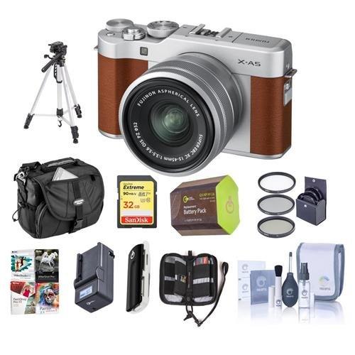 Fujifilm X-A5 24.2MP Mirrorless Digital Camera with XC 15-45