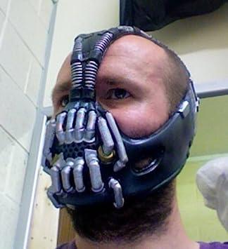 Bane mask Deluxe Polyurethane Version & Bane mask Deluxe Polyurethane Version: Amazon.co.uk: Toys u0026 Games