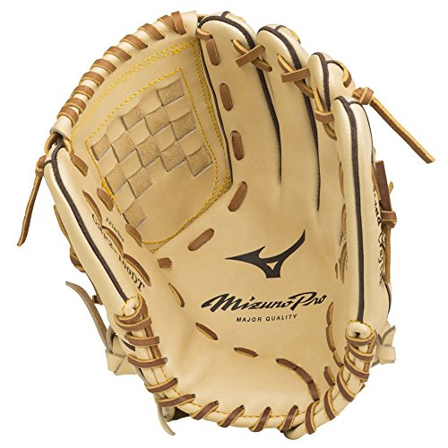 Mizuno Pro Infield/Outfield/Pitcher Model Gloves, Tan, 12