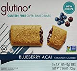 Glutino Gluten Free Breakfast Bars, Blueberry Acai, 5 Count (Pack of 6)