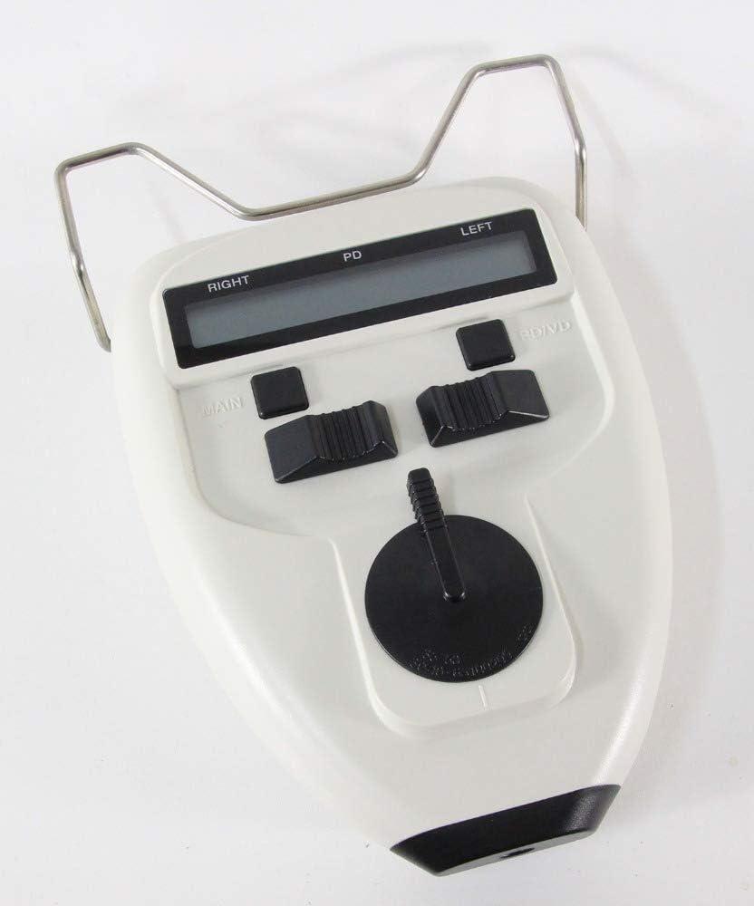ZUQIEE medidor de Distancia 45~82 mm de Bulbo Pupilómetro Cerca/lejos Target Movimiento LED Deslizante optometría Distancia pupila Meter PD Distancia pupilar Meter Tester CP-32AT