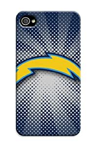 iphone 4s Protective Case,Brilliant Football iphone 4s Case/San Diego Chargers Designed iphone 4s Hard Case/Nfl Hard Case Cover Skin for iphone 4s