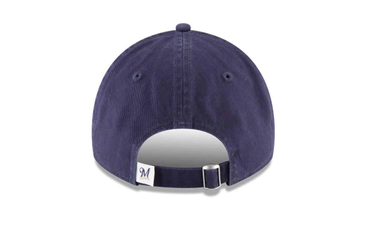 detailed look 95c1b 62726 Amazon.com  New Era 920 MLB CORE Classic Replica Milwaukee Brewers 9TWENTY  Game DAD Cap  Clothing