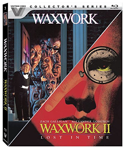 Blu-ray : Waxwork / Waxwork II: Lost In Time (Vestron Video Collector's Series) (2 Pack, 2 Disc)