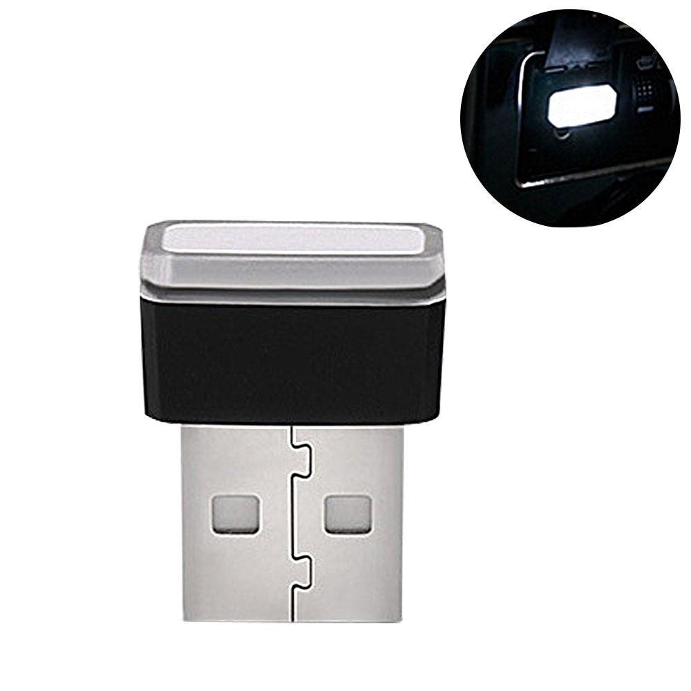 Pawaca auto USB illuminazione, auto luci interne atmosfera luce mini wireless USB universale a LED per auto & notebook & Power Bank