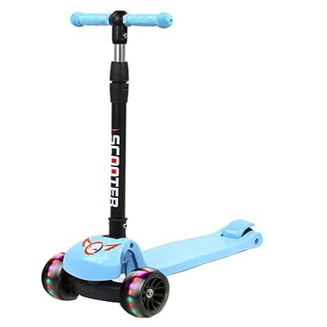 LJXin-Kick Scooters Patinete para niños de 2 a 14 años de ...