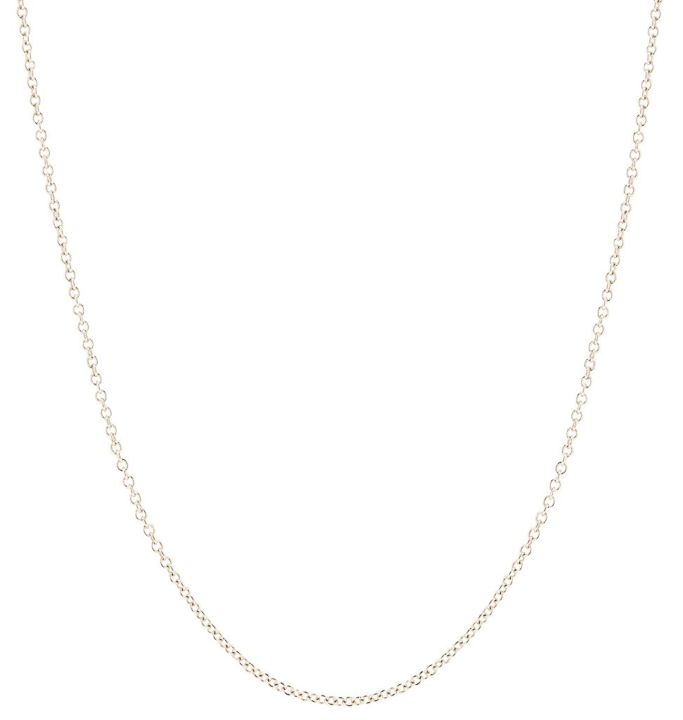 Helen Ficalora Fine Chain White Gold 20 in