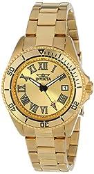 Invicta Women's INVICTA-15094 Pro Diver Analog Display Japanese Quartz Gold Watch