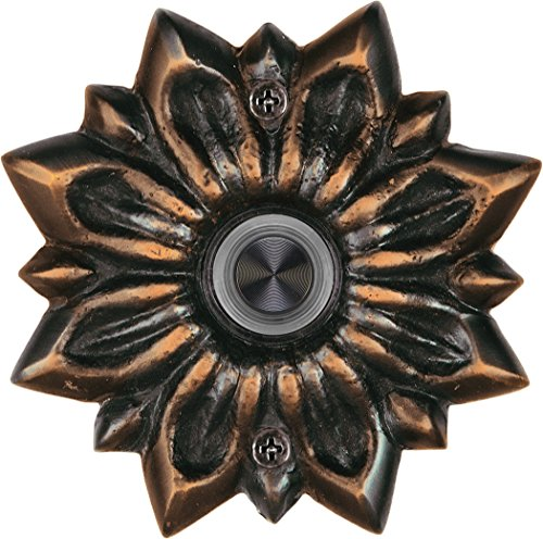 Waterwood Solid Brass Radiance Doorbell in Oil Rubbed Bronze