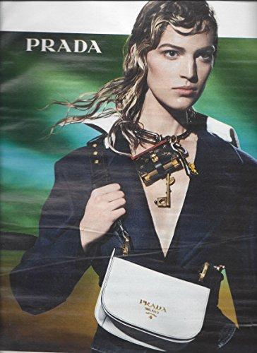 --Magazine PRINT AD-- With Vanessa Axente For Prada 2016 HandbagsPRINT - 2016 Prada