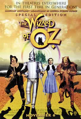 Wizard Of Oz - Movie Poster (Size: 27'' x 40'') (By POSTER STOP ONLINE)