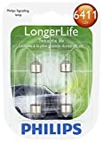 ford contour trunk seal - Philips 6411 LongerLife Miniature Bulb, 2 Pack