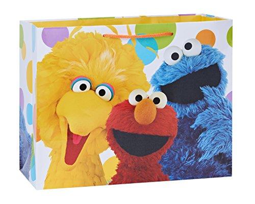 american-greetings-large-sesame-street-birthday-gift-bag-elmo-cookie-monster-and-big-bird-6454167889