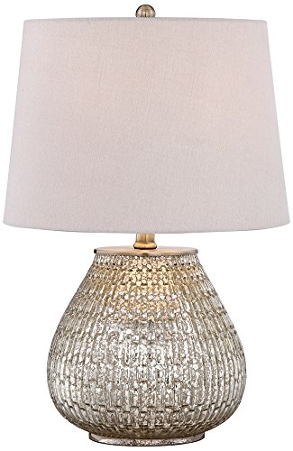 zax mercury glass table lamp
