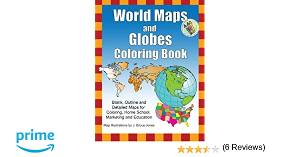 Workbook continents for kids worksheets : Amazon.com: World Maps and Globes Coloring Book: Blank, Outline ...