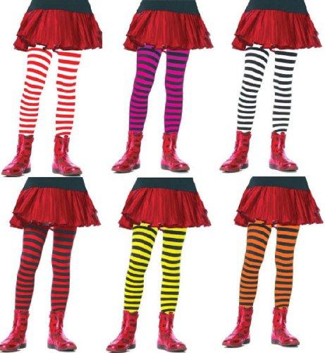 Leg Avenue Children's Striped (Striped Tights Halloween Costume)