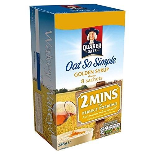 Quaker Oat So Simple Golden Syrup 8 Sachets - 288 gr: Amazon.es: Alimentación y bebidas
