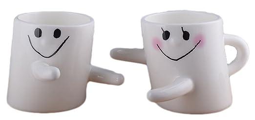 amante abrazo feliz linda preciosa para las tazas de ...