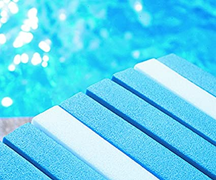 2 Colchonetas Magic-Float color Blanco y Azul