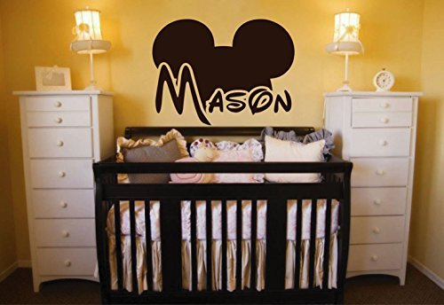 Personalized Mickey Custom Sticker