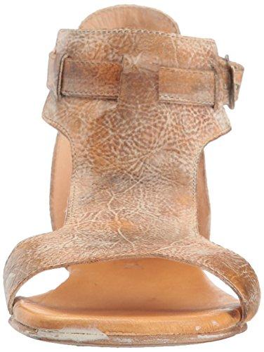 bed stu Women's Sable Flat Sandal Tan Rustic White Bfs 4snhkK1