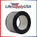 LifeSupplyUSA Replacement HEPA Filter fits Honeywell 20500 Air Purifier 10500 (EV-10) 17000 17005 17006 17007 17008 17009 83170