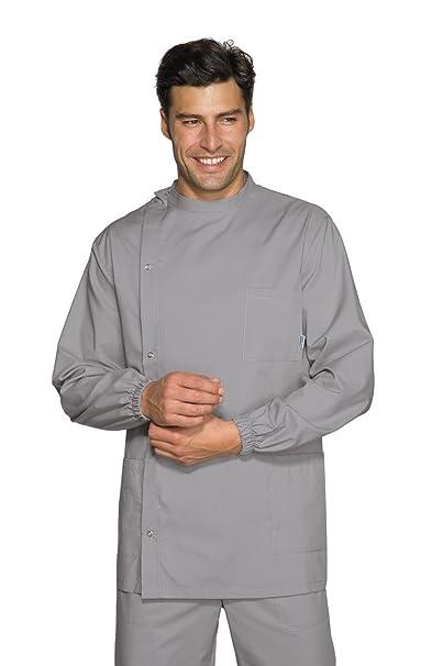 Robinson Hombre casaca con dentista con botones gris tamaño gris 50 : Amazon.es: Ropa y accesorios
