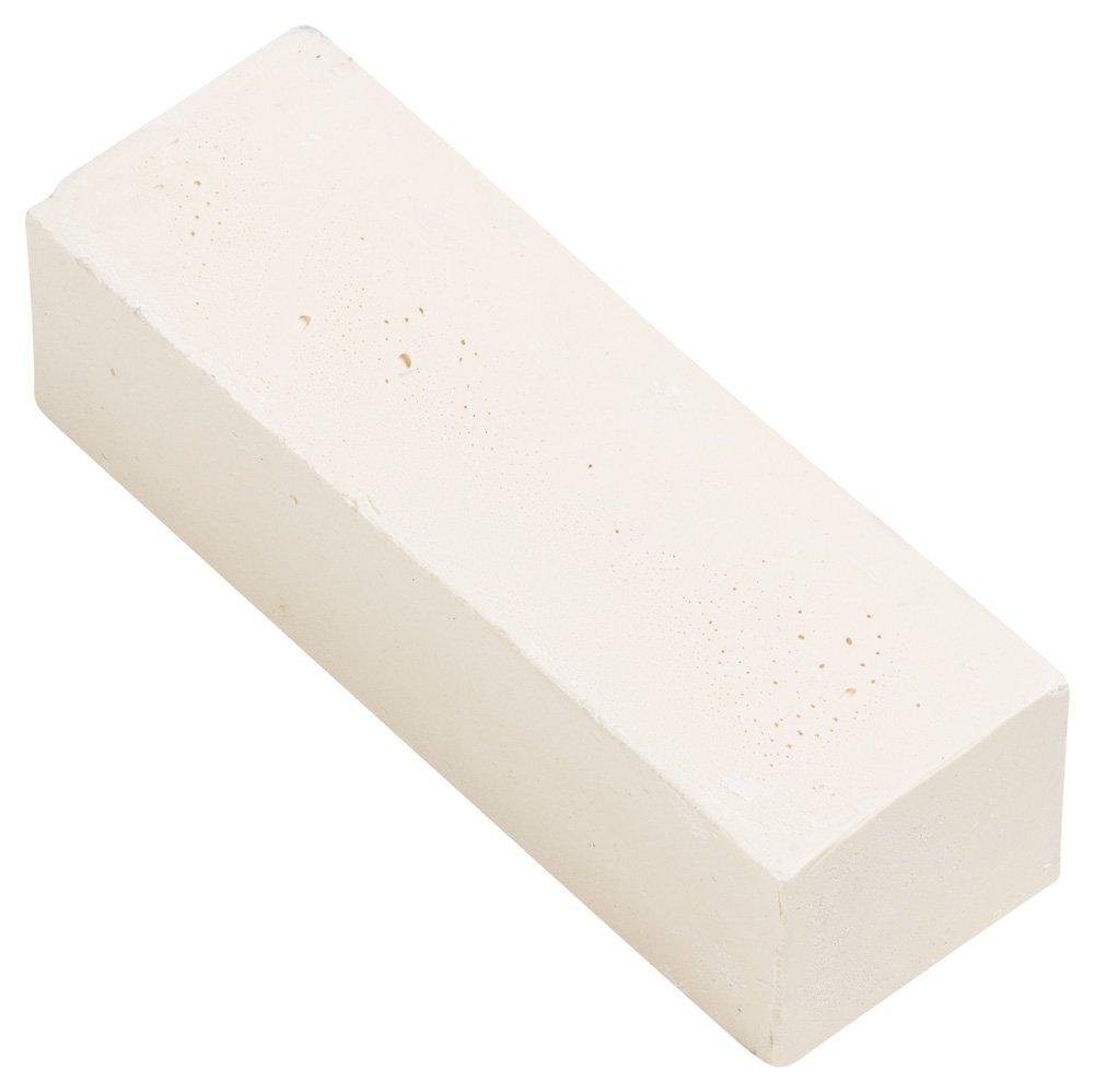 PFERD 48769 5-High-Gloss Polish Paste Bar for Plastics, Small, Beige, 1' Width x 1-1/4' Depth x 3-1/2' Height 1 Width x 1-1/4 Depth x 3-1/2 Height PFERD Inc.