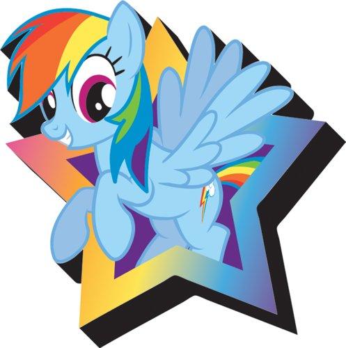 Aquarius My Little Pony Rainbow Dash Magnet ()