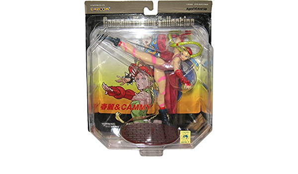 Street fighter cammy figure capcom new in blister BD video game manga