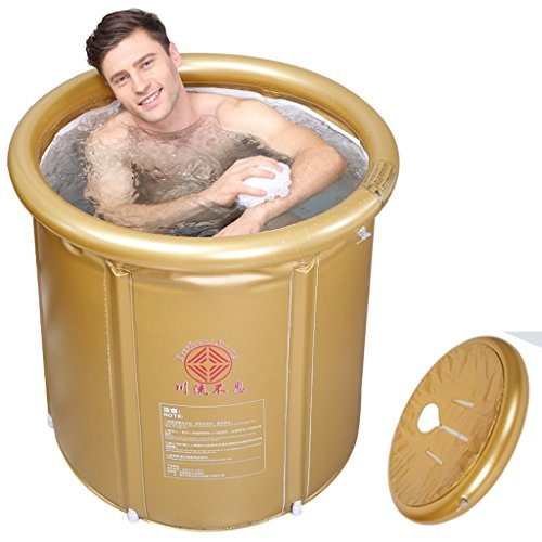 Sunhai& Foldable bathtub adult inflatable family bath tub ( Size : Large )]()