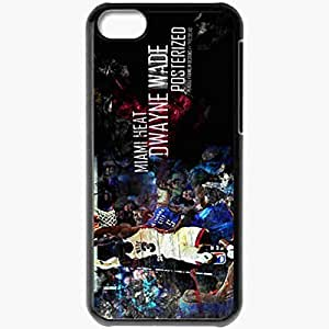 Personalized iPhone 5C Cell phone Case/Cover Skin 14881 heat wp 67 sm Black by icecream design