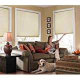 "Custom Cordless Single Cell Shades, 46W x 46H, Daylight, Any size from 21"" to 72"" wide and 24"" to 72"" high Available"