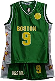 Default Basketball Summer Shorts Boys New Girls Top Vest Kit Set BNWT Size 2-14 Years