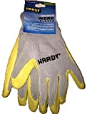 Hardy Latex Coated Work Gloves, Large