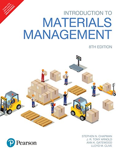 Introduction To Materials Management 8Th Edition