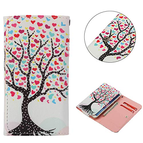 Universal Cell Phone Flip Case for Zen Admire Glam 5