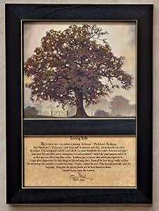 Amazon.com: Framed Print - Living Life Journey