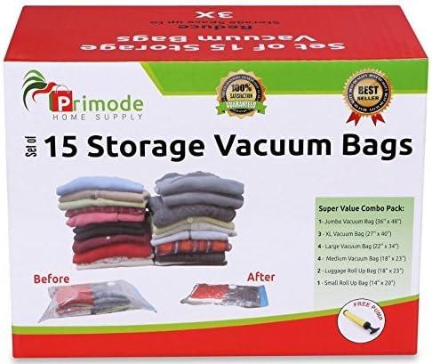 Amazon.com: Primode 15bolsas para almacenamiento al ...