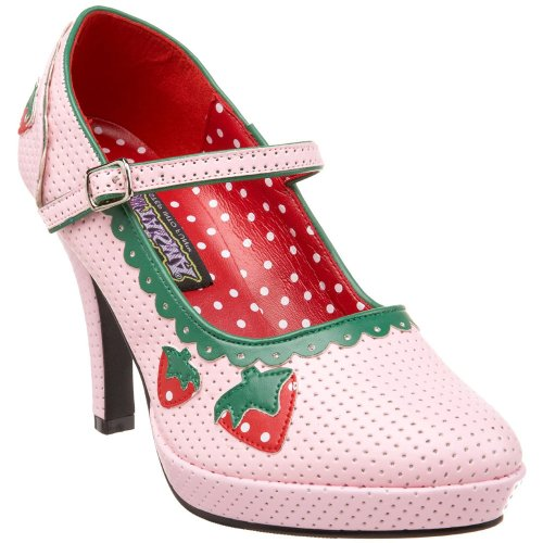 CONTE (Strawberry Shortcake Costume Shoes)