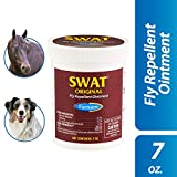 Farnam SWAT Fly Repellent Ointment | for Horses and Dogs | 7 oz | Pink