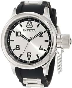 Invicta Russian Diver Mens Black Rubber Watch 1435