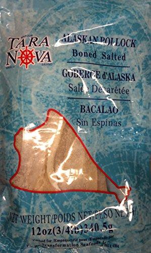 (Tara Nova Brand Bacalao Alaskan Pollock 16oz Pack of 2)