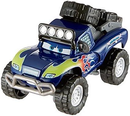 Amazon Com Disney Pixar Cars Rs 500 Diecast Blue Grit Toys Games