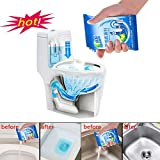 Ecurson Dredging Agent,Kitchen Sewer Pipes Deodorant Strong Pipeline Dredge Agent Toilet Cleaning Tool