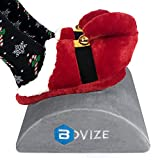 Bovize Foot Rest Cushion for Home and Office, Soft Yet Firm Foam Cushion Footrest Under Desk Foot Stool Ergonomic Back Pillow for Office accessories